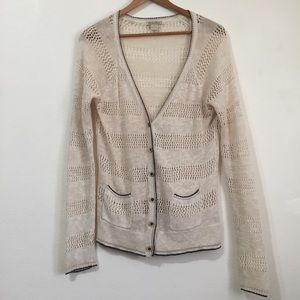 Lucky Cream Cardigan